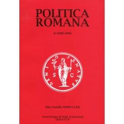 Politica Romana. (Rivista n.8)