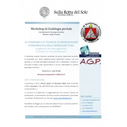 Workshop di Grafologia peritale