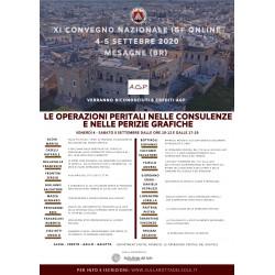 Legislazione e prassi giudiziarianella perizia grafica - X Convegno