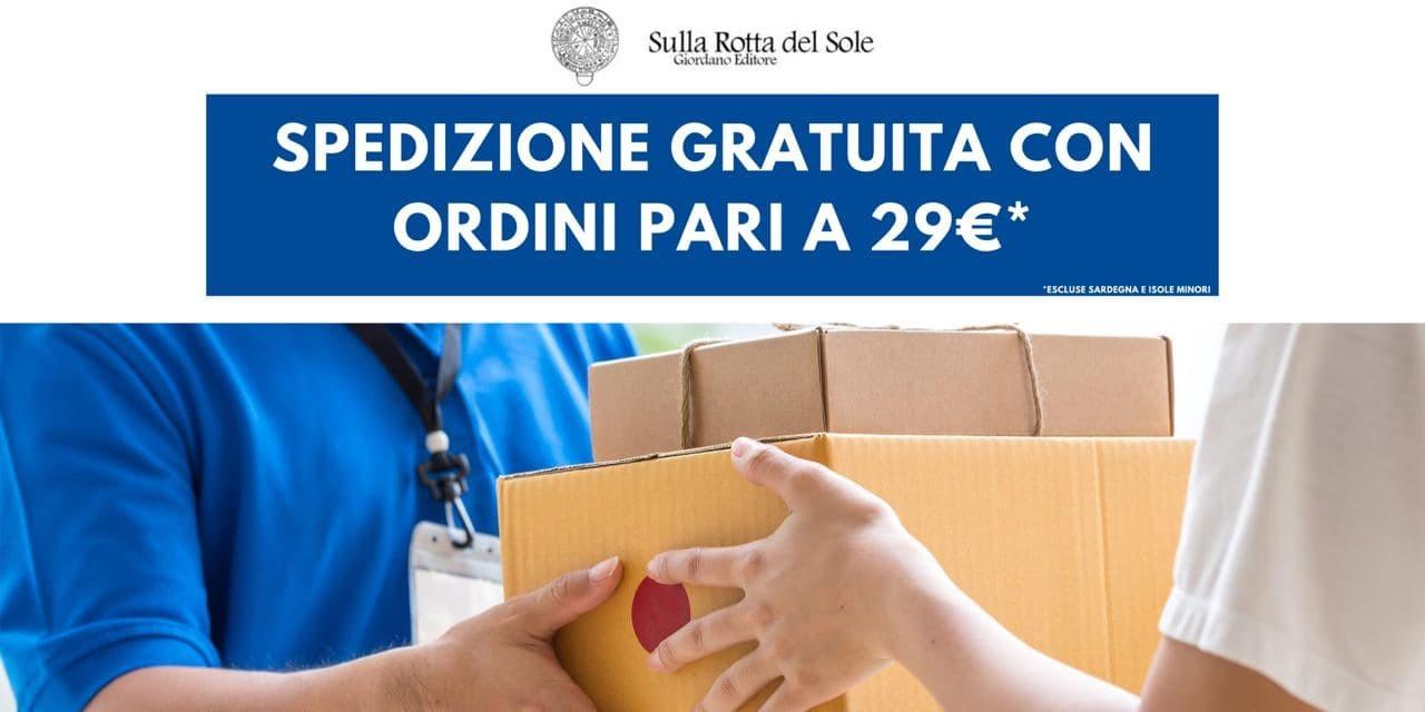 Spedizione gratuita con ordini superiori a 29€